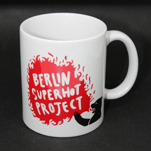 Berlin Super-hot Chili Project official coffee mug