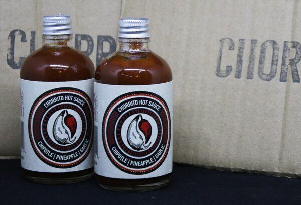 HOT SAUCE / Chipotle Pineapple & Garlic : Chorrito Sauce / Heat Level 5/10