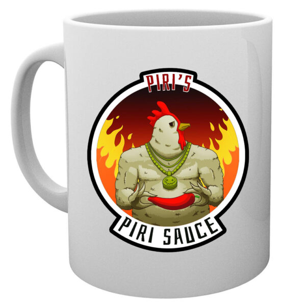 Piri Piri Hot Sauce Coffee Mug : Artwork by B.S.