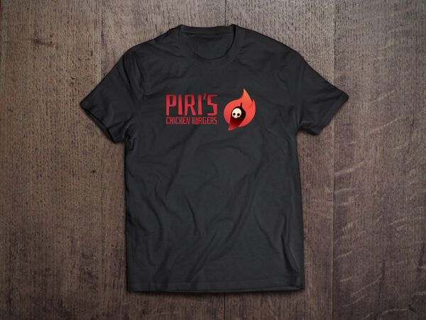 Piri Hot Sauce black Tshirt