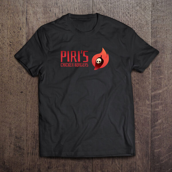 Piri Hot Sauce black Tshirt