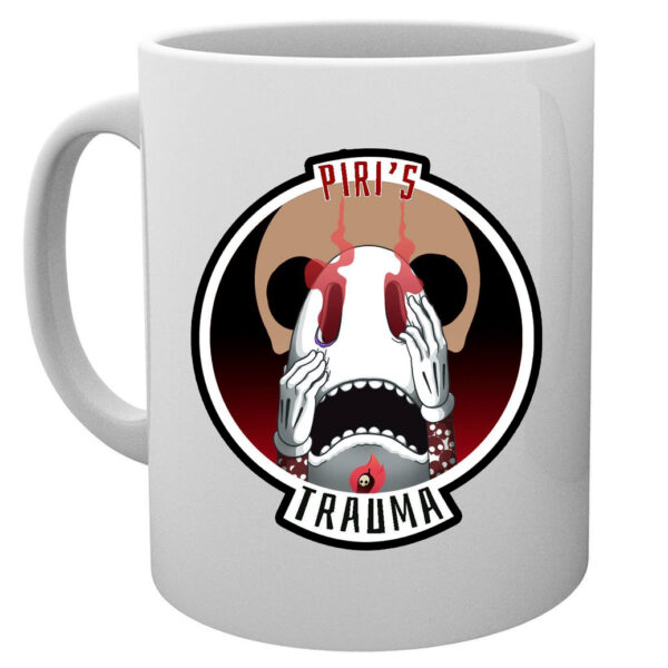 Piri Trauma Hot Sauce Coffee Mug : Artwork by B.S.