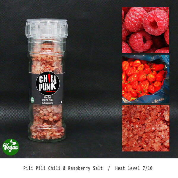 pili pili chili and raspberry